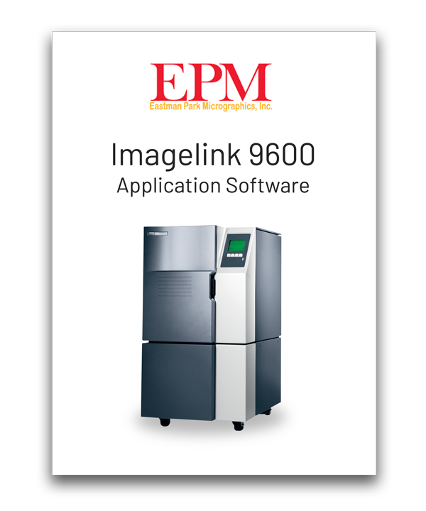 eastman park imagelink 9600 software solution